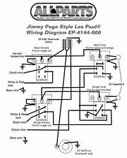 50 s style les paul wiring diagram two way switch uk buy allparts ep 4144 000 picks kit for jimmy page gibson complete w pots wire
