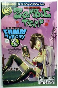 ZOMBIE TRAMP * NOT FOR KIDS * FCBD Free Comic Book Day 2014 Comic Action Lab