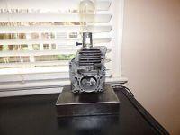 Industrial Steampunk Motor / Salvage Art Lamp | eBay