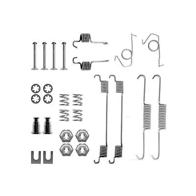 FORD FIESTA MK2 (1983->1989) REAR BRAKE SHOE FITTING KIT