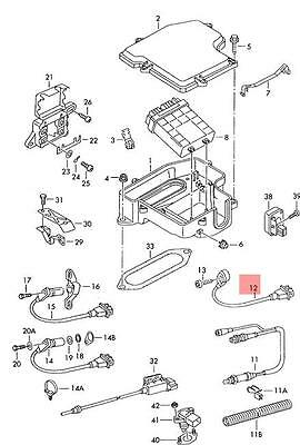 Genuine Knock Sensor With Wiring Harness VW Passat 3B3 3B6