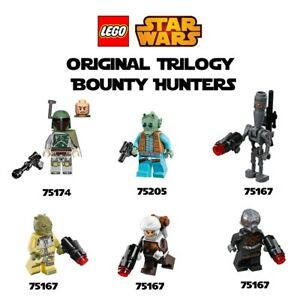 Details About Lego Star Wars Ot Bounty Hunters Boba Fett 75174 Greedo 75205 More