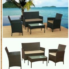 Legare Bamboo Sofa Table Broyhill Fl Rattan Garden Furniture Chairs Set Patio