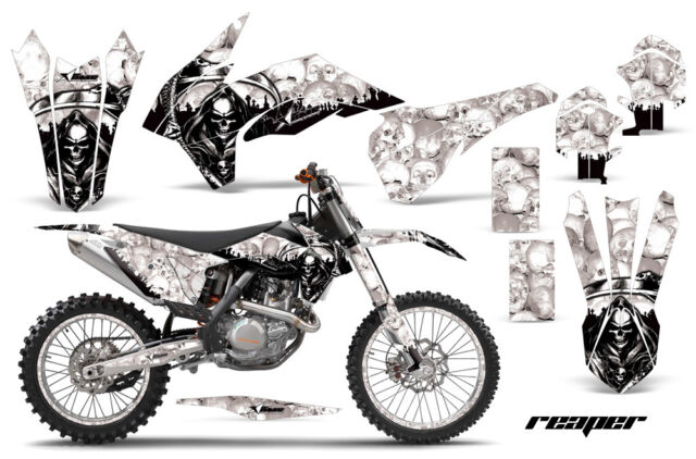 Decal Graphic Kit Wrap + # Plates For KTM SXF/XCF/EXC/TC-F