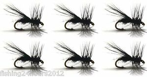 6pcs Half Dozen Bass Trout Salmon Steelhead Fly Fishing