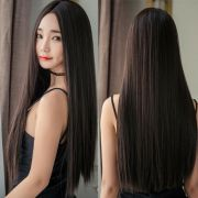 women long straight full wig hair