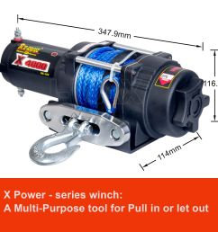 i max wireless 4000lbs 1814kg 12v electric winch rope boat atv 4wd imax winch wiring diagram 12v [ 1600 x 1600 Pixel ]