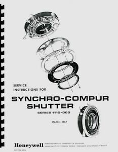 Synchro-Compur Shutters Service & Repair Manual for