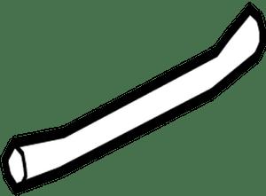 62330-50040 Toyota Weatherstrip, rear door, lower rh