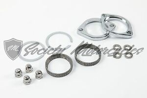 Harley Davidson Dyna Exhaust Flange Install Kit For 1984