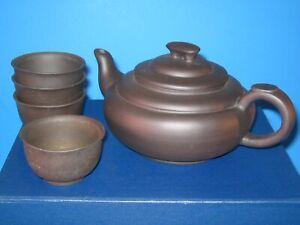 Brand New YIXING ZISHA Tea Pot set #TS0716