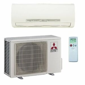 Mitsubishi Mr Slim 23 Seer Mini Split Heat Pump 12k btu