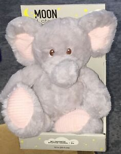 details about walgreens moon and star plush softest my favorite stuffed animal gray elephant