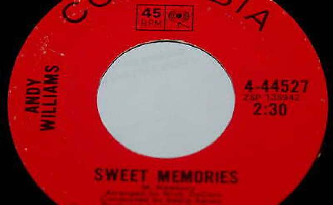 Andy Williams 45 Sweet Memories You Are Where Everything Is Ebay