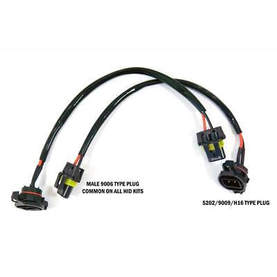 HID Wire Harness Cable Ballast to Socket Plug 5202 2504