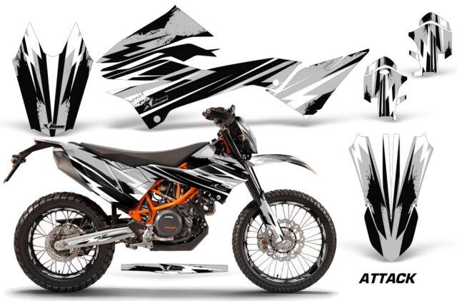 Decal Graphics Kit MX Wrap + # Plates For KTM 690 Enduro R