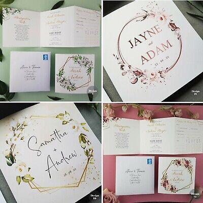 Wedding Invitations With Envelopes