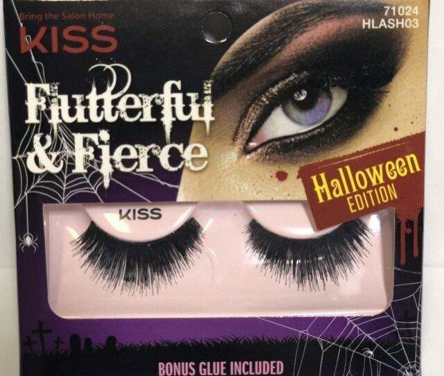 Kiss Flutterful Fierce Halloween Edition Lashes  Hlash Badazzery