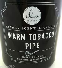 DW Home Warm Pipe Tobacco Richly Scented Candle Single ...