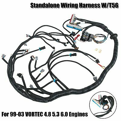 Complete Standalone Wiring Harness w/ T56 For 99-03 VORTEC