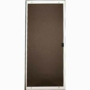details about 36 x 80 standard duty sliding screen door white