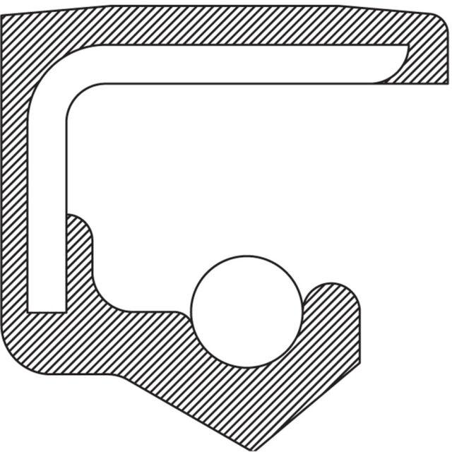 Manual Trans Main Shaft Seal-4WD, 6 Speed Trans National