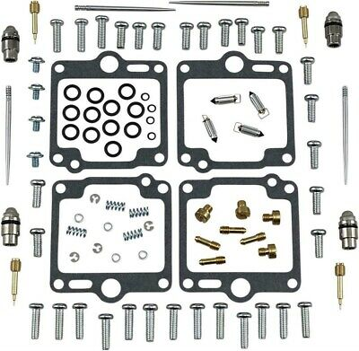 CARBURETOR CARB GASKETS JETS REBUILD KIT YAMAHA FJ1200