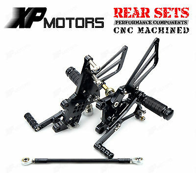 Adjustable Rearset Foot pegs Rear Sets For Triumph Daytona