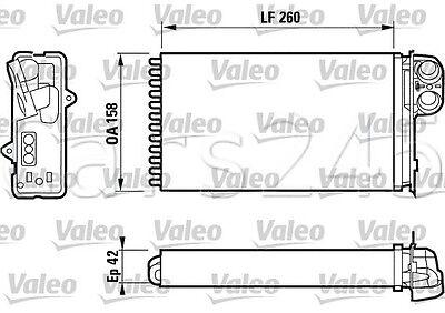 Renault Megane Scenic I 1 1.4L-2.0L VALEO Heater Core 1997