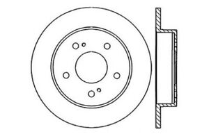 Rear Brake Rotor For 1989-1994 Nissan Maxima 1991 1992