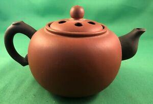 Vintage Small Chinese Yixing Zisha Clay Pottery Miniature Teapot