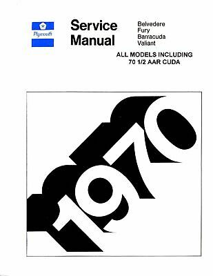 OEM Repair Maintenance Shop Manual Plymouth All Models w
