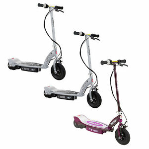 Razor E100 Motorized Rechargeable Electric Scooter Bundle