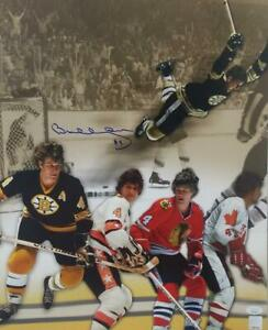 Bobby Orr Dive : bobby, Bobby, Signed, Bruins, Flying, 16x20, Autographed, Photo
