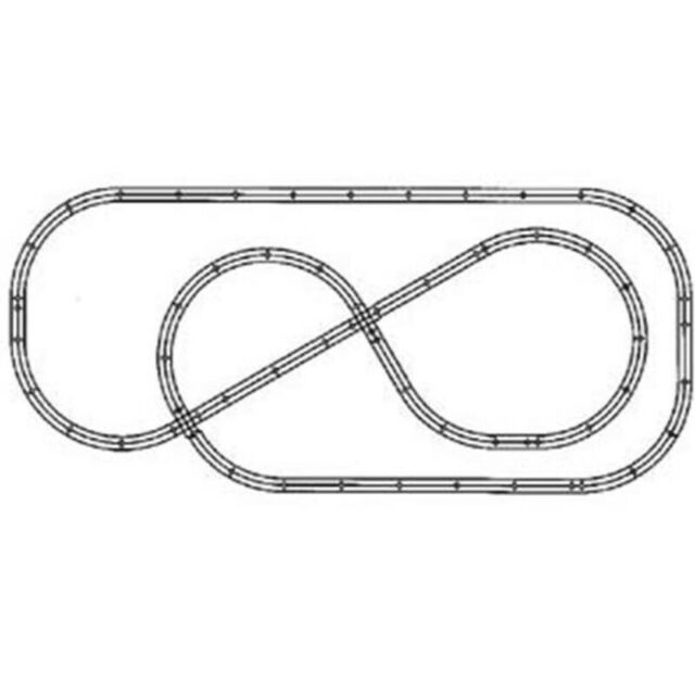 Atlas O Scale 3 Rail The Pacific Pretzel Layout Package