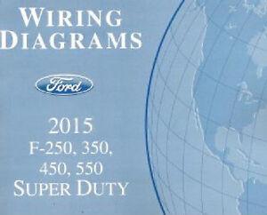 2015 Ford F250 F350 F450 F550 Factory Wiring Diagram