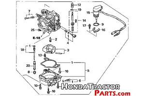 HONDA BF20 BFP20 BF 20 HP OUTBOARD BOAT MOTOR CARBURER