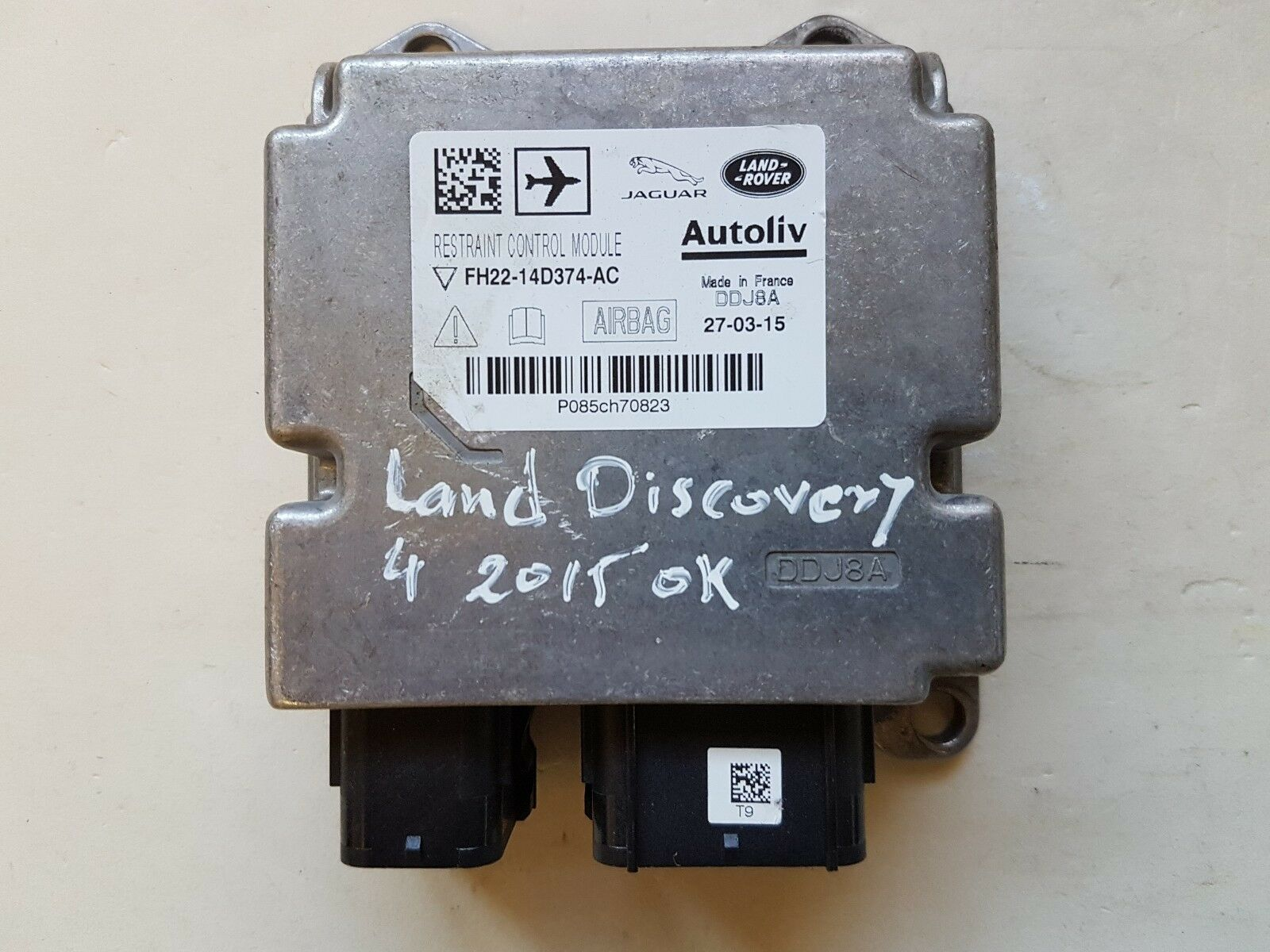 hight resolution of land rover restraint control module