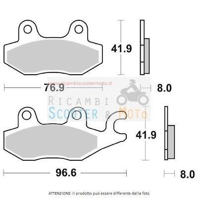 6566380#2 Rear Brake Pads Aeon Cobra Rs / Cobra Utility