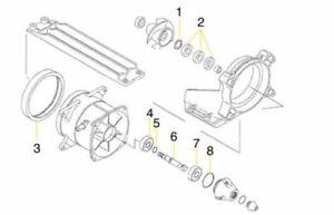 Turbine repair kit jet skiing kawasaki jet pump repair kit