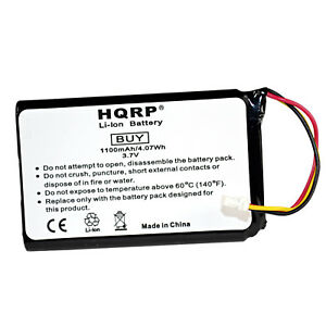 HQRP 1100mAh Battery for Garmin Nuvi 30 40 40LM 50 50LM