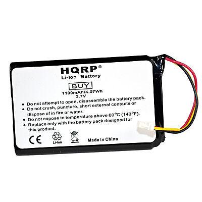 HQRP 1100mAh Battery for Garmin Nuvi 30 40 40LM 50 50LM