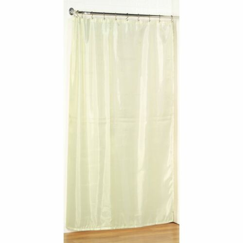54 w x 78 l stall size fabric shower curtain water resistant weighted hem bathroom supplies accessories garden curtains