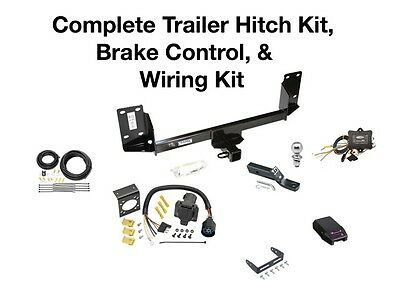 Complete Trailer Hitch Kit, Wiring Kit, & Brake Control