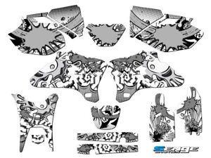 2005 2006 WR 250 450 GRAPHICS KIT YAMAHA WR250F WR450F