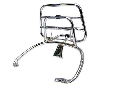 Luggage Rack Carrier Foldable chrome for VESPA PRIMAVERA