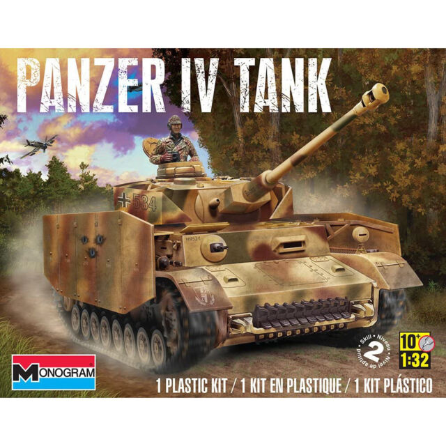 Revell 1:32 Panzer IV Tank Model With 2 Crew Members RMX7861 | eBay