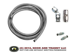 LT1 LS1 T56 Swap Hydraulic Clutch Hose Line Kit 36