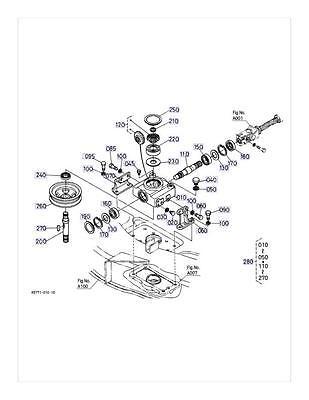 Kubota K5440-71050 K5440-71053 Gearbox Repair Kit FITS
