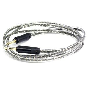 3.5mm Extra Strong Black Colour Stereo Jack Male to Male